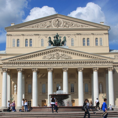 Walking tour + Bolshoi Theatre (4h)