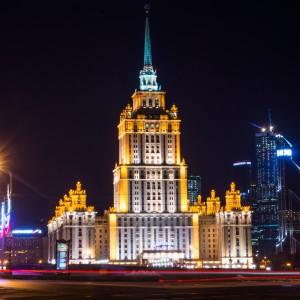 Illuminations de Moscou – Moscou de nuit en voiture (3h)