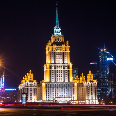 Night Moscow by car (2-3h)